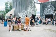Bereits in vergangenen Jahren lockte das Festival auf dem Saurer-Areal zahlreiche Besucher. (Bild: Ladina Bischof)