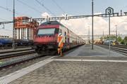 Wer in den Süden will, fährt via Rotkreuz (Bild: Christian H. Hildebrand)