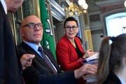 Kantonsrat Baumgartner wird der Nachfolger von Kantonsrats-Präsidentin Imelda Stadler