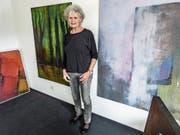 Marianne Zehnder in ihrem Atelier in Ettenhausen. (Bild: Kurt Lichtensteiger)