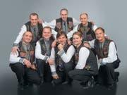 Das Vokalensemble Orpheus aus Lviv (Lemberg) in der Ukraine gastiert am Mittwoch in St.Gallen. (Bild: PD)
