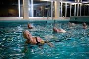2013 konnte man im Hallenbad Utenberg noch schwimmen. (Bild: Philipp Schmidli, 27. November 2013)