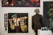 Die Künstlergruppe ohm41 vergibt Zertifikate für «gute Kunst». (Bild: Adriana Ortiz Cardozo)