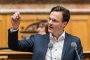 Bastien Girod, Grüner Nationalrat aus Zürich (Bild: Alessandro della Valle/Keystone)