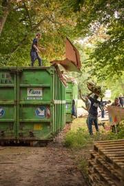 Nach dem Festival können die KarTents laut den Produzenten problemlos rezykliert werden. (Bild: PD/kartent.com)