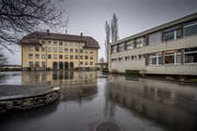 Das Schulhaus Littau Dorf soll umfassend saniert werden. (Bild: Pius Amrein, März 2019)