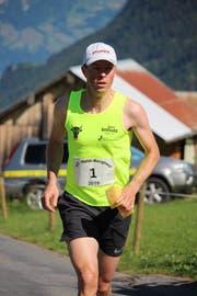 Manfred Jauch war bester Urner Athlet beim Haldi-Berglauf 2018. (Bild: PD)