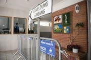 Das Ausreise- und Nothilfezentrum Sonnenberg in Vilters. (Bild: Adriana Ortiz Cardozo)