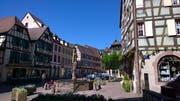 In Kaysersberg wuchs Friedensnobelpreisträger Albert Schweitzer auf. (Bild: Peter Granwehr)