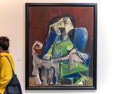 Ob dieser Picasso einen Käufer gefunden hat, ist nicht bekannt. Nicht alle Galerien an der Art Basel kommunizieren ihre Verkäufe. (Bild: KEYSTONE/GEORGIOS KEFALAS)
