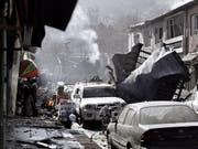 Das Land mit dem geringsten Mass an Frieden nimmt laut einer neuesten Untersuchung nunmehr Afghanistan ein. (Bild: KEYSTONE/EPA/HEDAYATULLAH AMID)