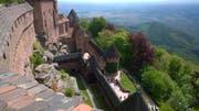 Die Haut Koenigsbourg im Elsass ist eine der meist besichtigten Sehenswürdigkeiten Frankreichs. Bild: Peter Granwehr