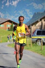 Im vergangenen Jahr erzwang Mekonen Tefera als Tagessieger die Bergstrecke am schnellsten. (Bild: PD)