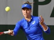 Viktorija Golubic zieht am WTA-Turnier in Nottingham in die 2. Runde ein (Bild: KEYSTONE/EPA/JULIEN DE ROSA)
