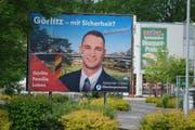 Sebastian Wippel will für die AfD Oberbürgermeister von Görlitz werden. (Bild: Sean Gallup/Getty, Görlitz, 23. Mai 2019)