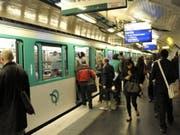 Bis spätestens 2021 soll es in der Pariser Metro keine Tickets aus Papier mehr geben. (Bild: Keystone/EPA/HORACIO VILLALOBOS)