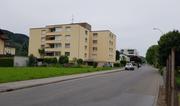 Vor diesem Haus in St.Margrethen kam es zur Schussabgabe. (Bild: TVO)