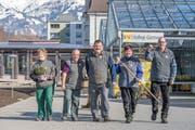 Am Samstag gibt es einen Einblick hinter die Kulissen der Stiftung Rütimattli wie hier bei der Kollegi-Gärtnerei in Sarnen.. (Bilder: PD)