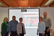 Hilfe zur Selbsthilfe in Kenia initiieren: Der Vorstand des neu gegründeten Vereins in Wildhaus. (Bild: Beatrice Bollhalder)