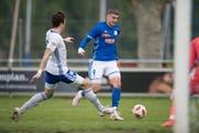 Darian Males in einem Spiel der FCL U21. (Bild: Pius Amrein (Buochs, 11. Mai 2019))