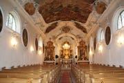 Die Kirche Maria Dreibrunnen ist im Inneren renoviert worden. Der Kanton beteiligt sich mit 85100 Franken aus dem Lotteriefonds an den Kosten. (Bild: PD)