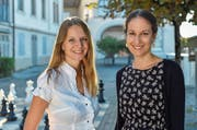 Co-Direktorinnen, Rapperswilerinnen, Freundinnen: Céline Gaillard und Simone Kobler. (Bild: Manuela Matt,Rapperswil, 21. September 2018)