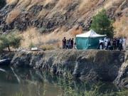 Der Baggersee in der Nähe der Stadt Xiliatos auf Zypern, in dem das sechsjährige Mädchen gefunden wurde. (Bild: Keystone/EPA/KATIA CHRISTODOULOU)
