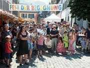 Das letztjährige Fest der Begegnung in der Stanser Spittelgasse anlässlich des jährlichen Flüchtlingstages. (Bild: PD, 16. Juni 2018))