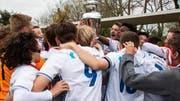 Die U15 ist schon Cupsieger. Holt sie nun auch in der Meisterschaft den Pokal? (Bild: FC Luzern)