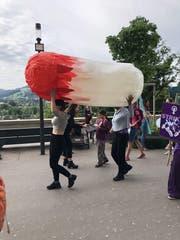 «Bloody unfair!» so lautet der Protest gegen die Tamponsteuer