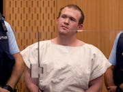 Der rechtsextreme Angreifer von Christchurch Brenton Tarrant hat am Freitag vor Gericht auf unschuldig plädiert. (Bild: KEYSTONE/AP Pool New Zealand Herald/MARK MITCHELL)