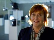 Die österreichische Künstlerin Valie Export, hier 2011 im Kunsthaus Bregenz, erhält den Roswitha Haftmann-Preis 2019. (Bild: Keystone/ENNIO LEANZA)