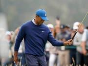 Tiger Woods - hier nach einem Fehlschlag auf dem Green frustriert (Bild: KEYSTONE/AP/DAVID J. PHILLIP)