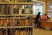 In Zukunft soll die Bibliothek Herisau mehr als nur Bücher anbieten. (Bild: Yann Lengacher)