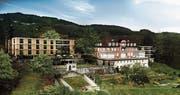 Mit dem neuen Altersheim Geserhus in Rebstein soll die Villa Tanner freigespielt werden. Im Idealfall wird der Spatenstich für den 60 Plätze fassenden Neubau dann im Jahr 2021 erfolgen. (Bild: Carlos Martinez Architekten AG)