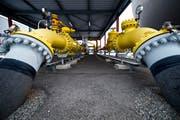 Wenn Deutschland zu wenig liefert, muss die Schweiz Alternativen suchen: Erdgasstation in Schlieren. (KEYSTONE/Urs Jaudas)