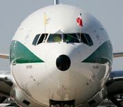 Die Alitalia kämpft ums Überleben. (Bild: linio Lepri/Keystone)