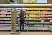 Markenprodukte haben hierzulande einen schweren Stand. (Bild: Alessandro Della Bella/Keystone, Zürich, 24. Februar 2009)