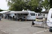 Der Parkplatz gehört der Gemeinde Rorschach, liegt aber auf dem Boden der Nachbargemeinde Rorschacherberg.