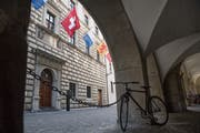 Das Luzerner Regierungsgebäude. (Bild: Boris Bürgisser)