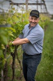 Kurt Henauer kümmert sich künftig wieder intensiver um seinen Landwirtschaftsbetrieb. (Bilder: Reto Martin)