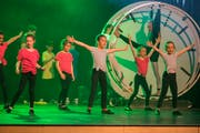 An der Musikschule Kreuzlingen wird auch Tanz unterrichtet. Am letzten Projekt «Rund um die Uhr» im März wirkten rund 300 Kinder und Erwachsene mit. (Bild: Reto Martin)
