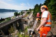 Die Zugersee-Sperre hat starke Auswirkungen auf den Urner Pendlerverkehr. (Bild: Stefan Kaiser, Walchwil, 05. Juni 2019)