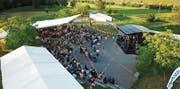 «Projekt Blues Rock» im Rheinauenpark darf diesen Samstag die Festwirtschaft bis 3 Uhr, den Musikbetrieb bis 2 Uhr führen. (Bild: pd)