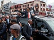 Das Lager von Madagaskars neuem Präsidenten Andry Rajoelina konnte auch die Parlamentswahl für sich entscheiden. (Bild: KEYSTONE/EPA/HENITSOA RAFALIA)