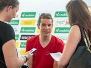 Der Schweizer Radprofi Claudio Imhof startet als einer der Leader des Schweizer Nationalteams erstmals zur Tour de Suisse (Bild: KEYSTONE/URS FLUEELER)