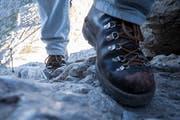 Der 41-Jährige war mit einer Gruppe war vom Aescher in Richtung Chobel unterwegs als er stürzte. (Symbolbild: Keystone)