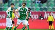 Der 26-jährige Simone Rapp sollte die Lücke schliessen, die der verletzte Stürmer Cedric Itten hinterlassen hat. Nun muss er den FCSG doch verlassen. (Bild: FCSG)