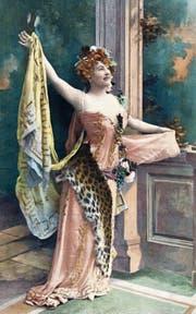 Juliette Mealy als Eurydice in der Gesellschaftssatire «Orphée aux Enfers». (Bild: Alamy)