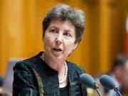 Will im Nationalrat bleiben: Die Zürcher CVP-Politikern Kathy Riklin (66). (Bild: KEYSTONE/PETER KLAUNZER)